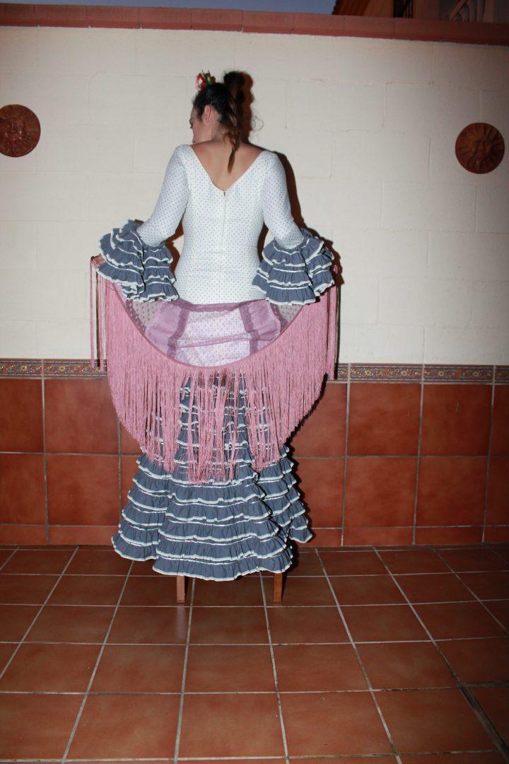 Huelva. Traje flamenco. Rocio Lama. Diseño exclusivo