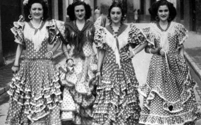 Los trajes en El Rocío
